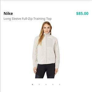 Nike women's therma sherpa full zip